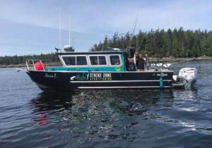 Alaska Strike Zone Charter boat