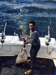 catch a halibut