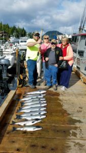 four hour salmon trip