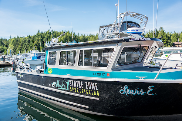 Alaska Fishing Excursion Boat