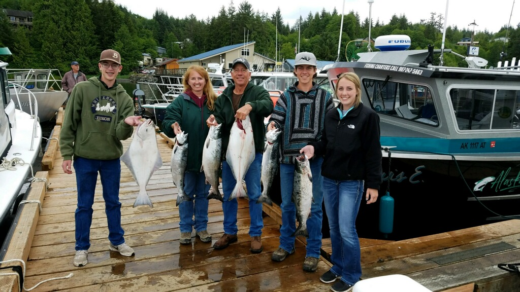 Ketchikan Fishing Charters - Alaska Salmon & Halibut Fishing