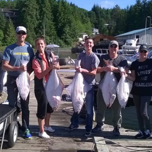 halibut fishing charter in Ketchikan